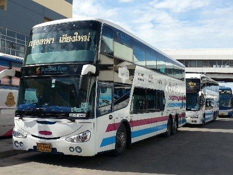 Bangkok to Chiang Mai Bus