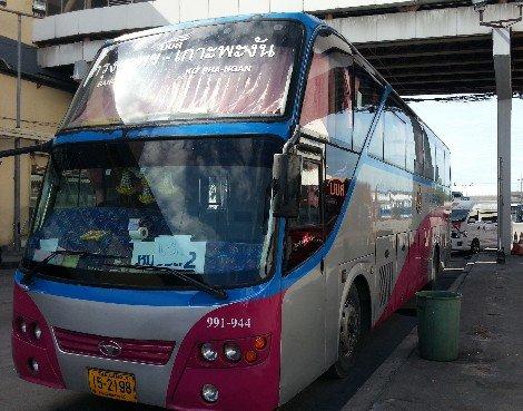 Bangkok to Koh Phangan Bus