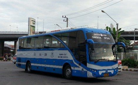 Bangkok to Pattaya Bus