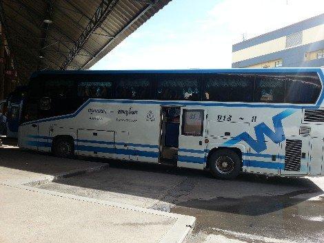 Bangkok to Phitsanulok Bus