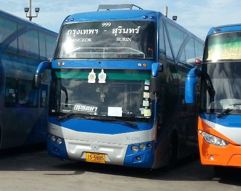 Bangkok to Surin Bus