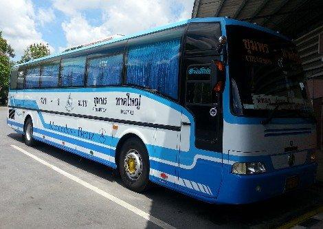 Chumphon to Hat Yai Bus