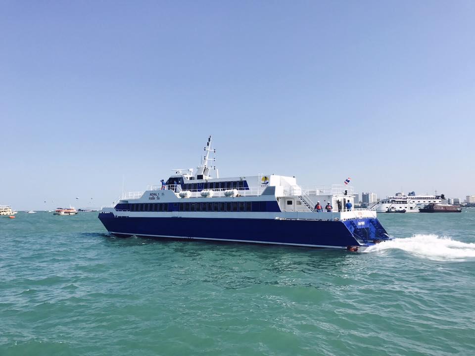 Pattaya to Hua Hin ferry