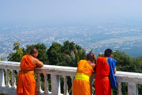 View from Wat Doi Suthep in Chiang Mai