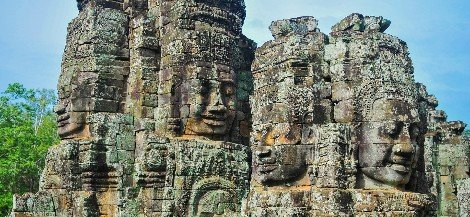 Angkor Wat is near Siem Reap
