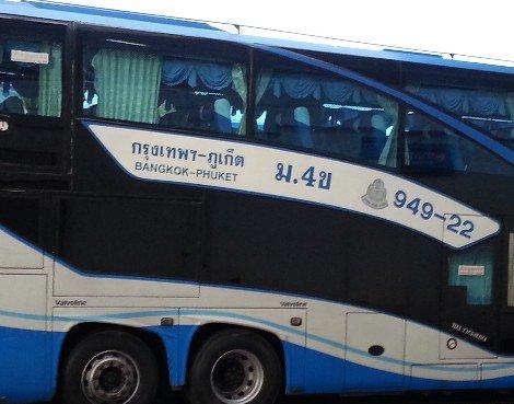 Bangkok to Phuket bus