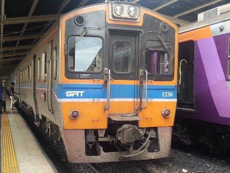 Bangkok to Udon Thani train