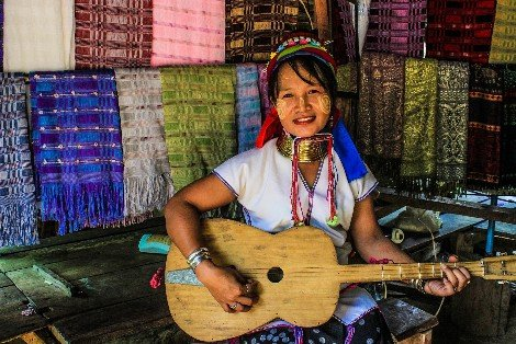 Karen people in Mae Hong Song