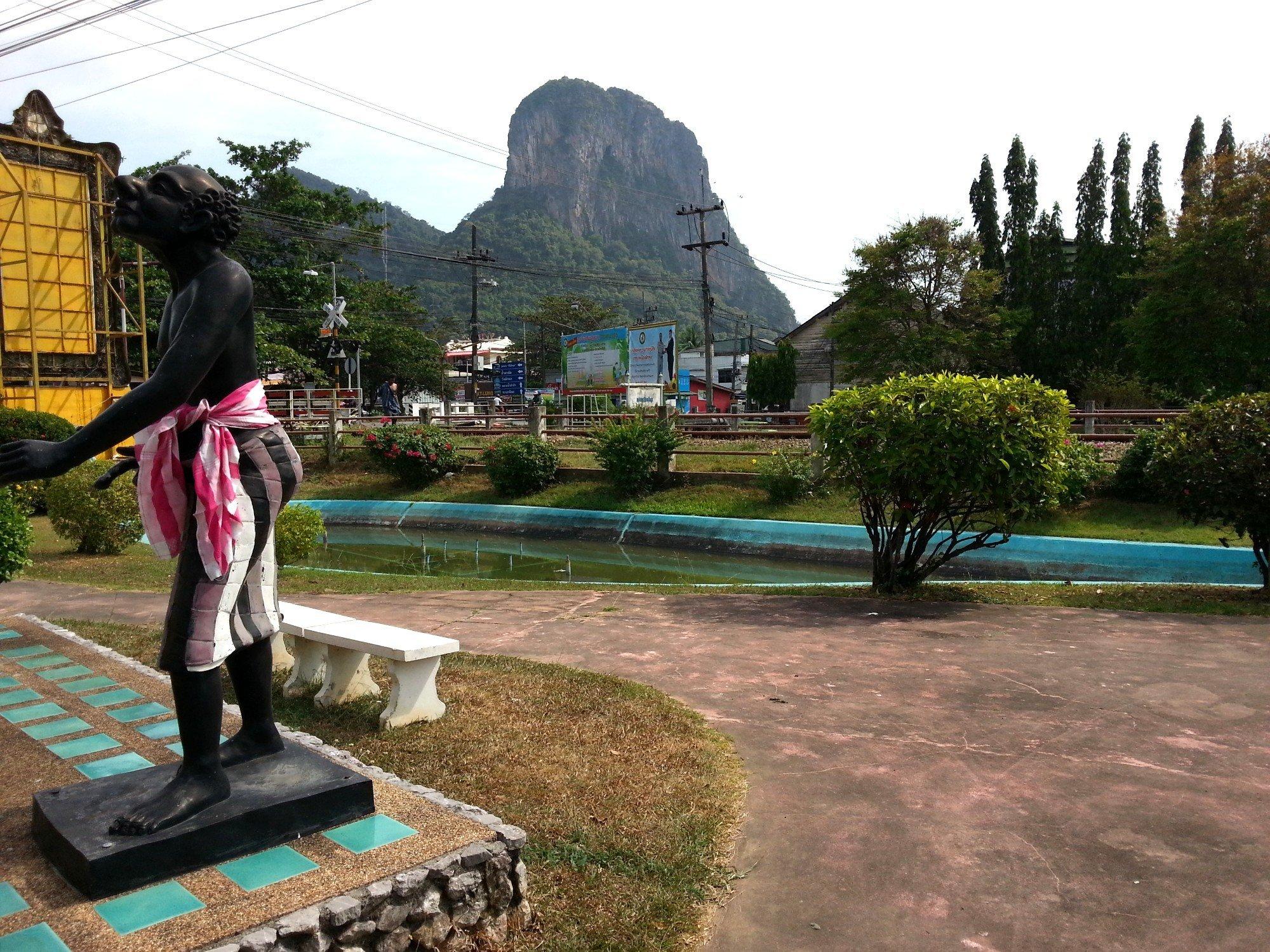 Phu Khao Ok Thalu hill in Phatthalung