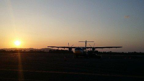 Plane at Ranong Airport