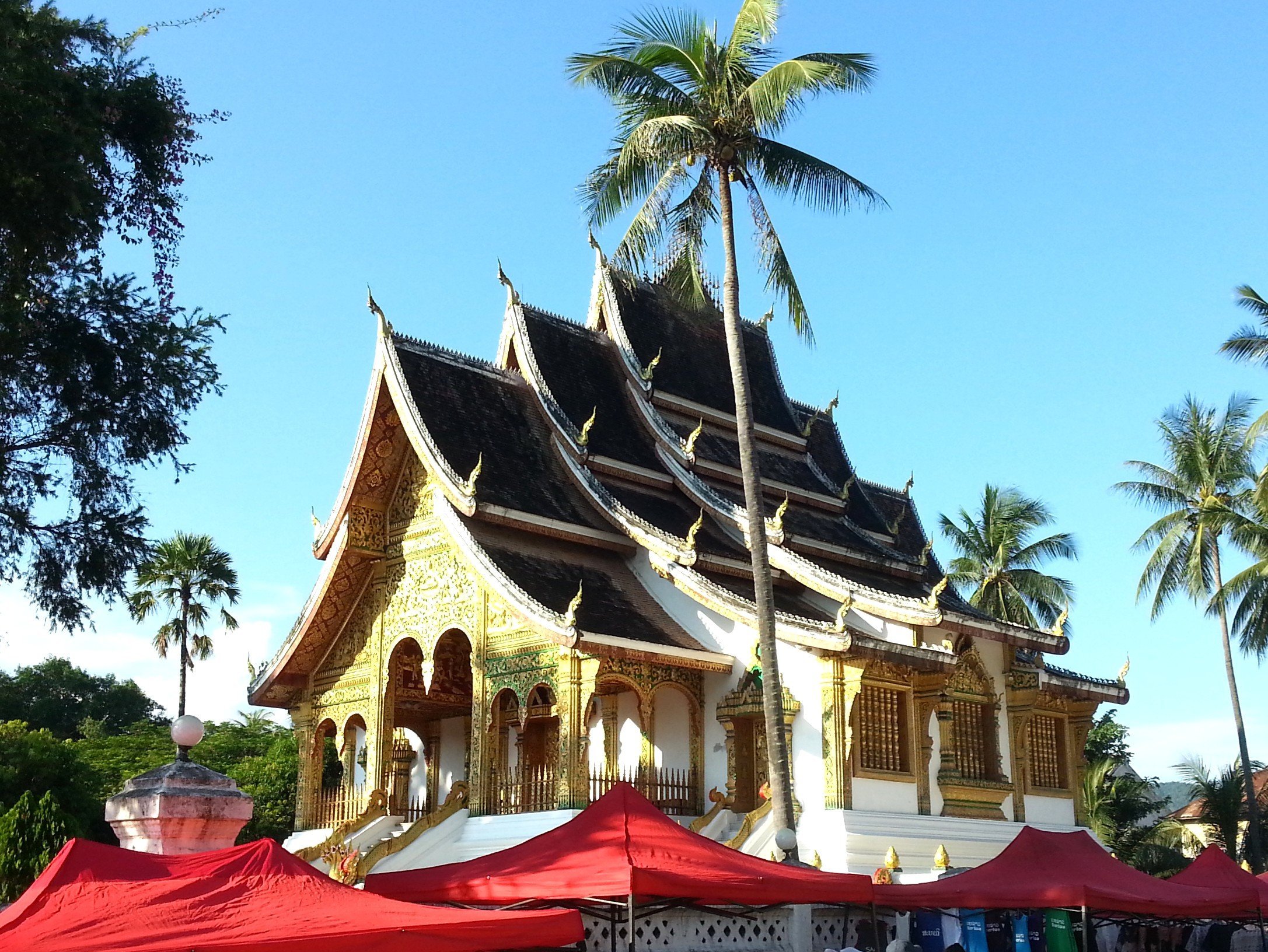 Wat Haw Pha Bang in Luang Prabang
