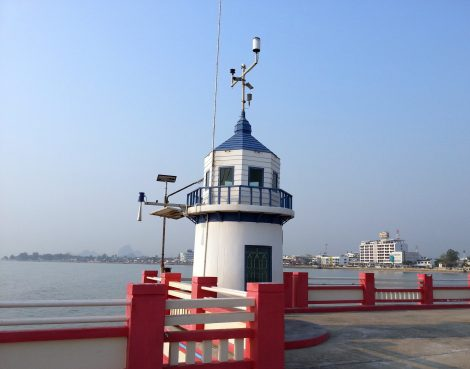Lighthouse in Prachuap Khiri Khan Town