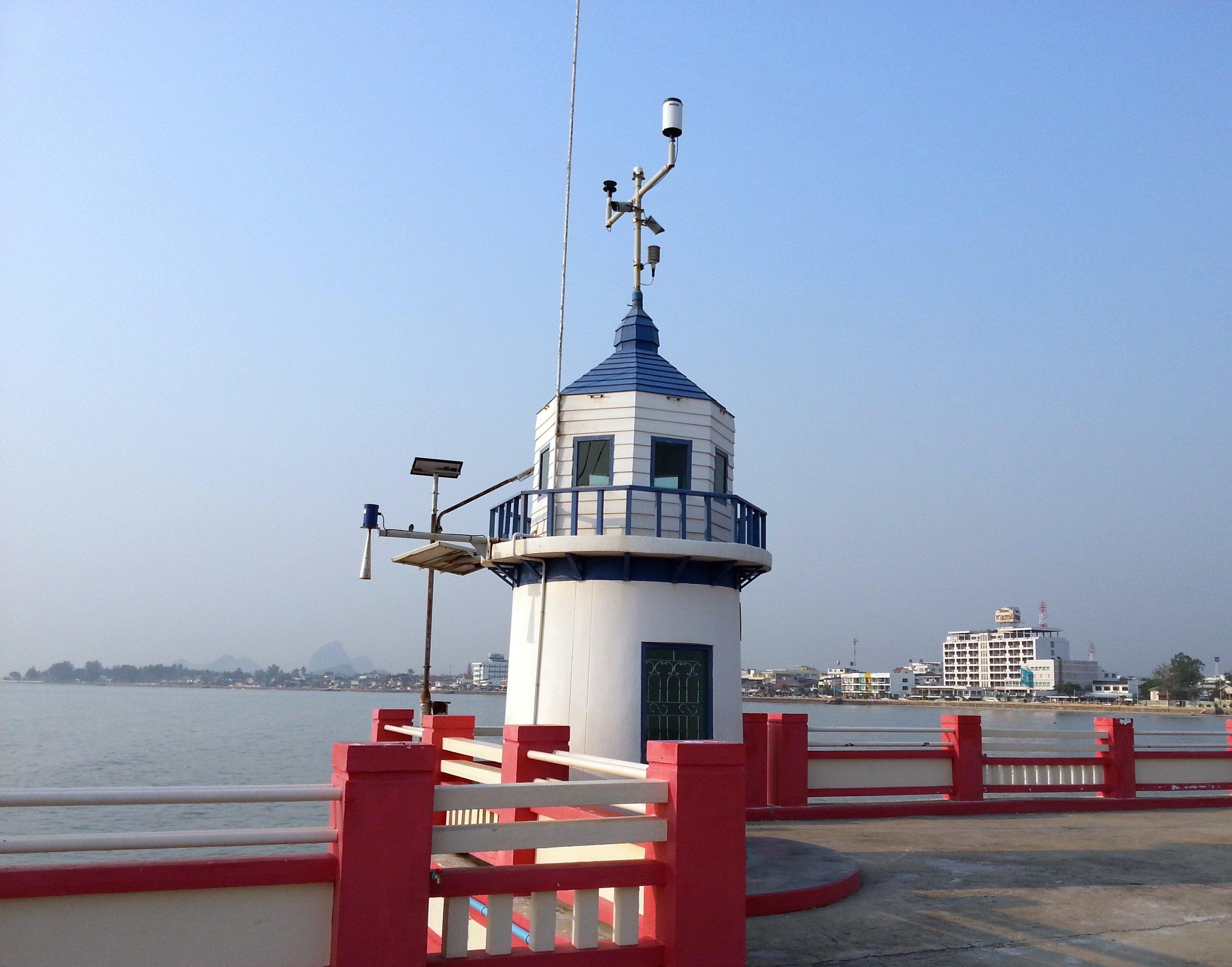 Lighthouse in Prachuap Khiri Khan Town