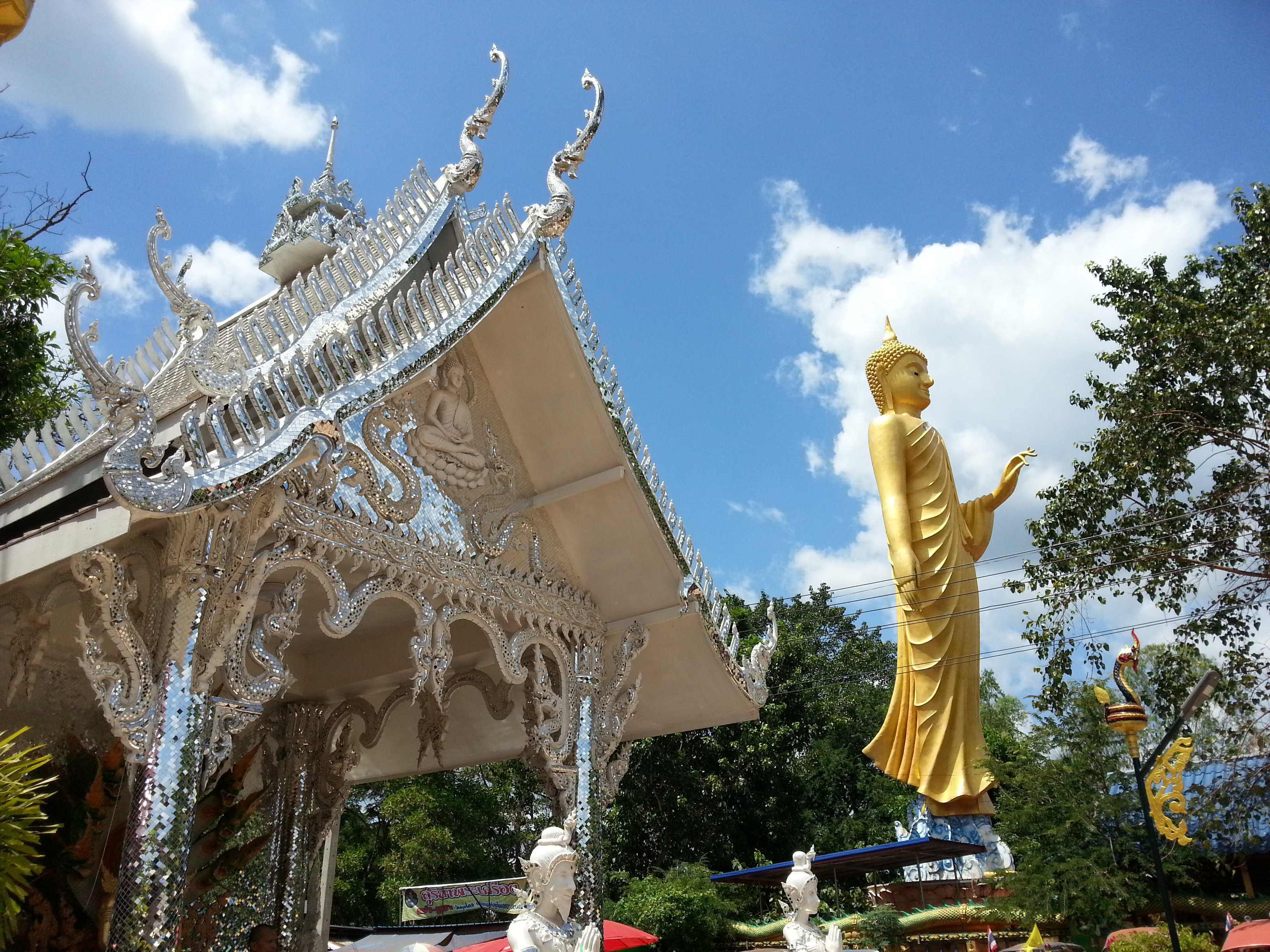 Wat Kam Chan Nod is a famous temple near Udon Thani