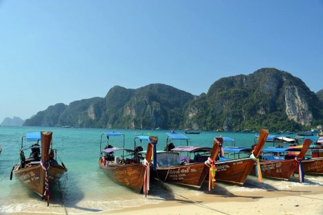 Beach on Koh Phi Phi