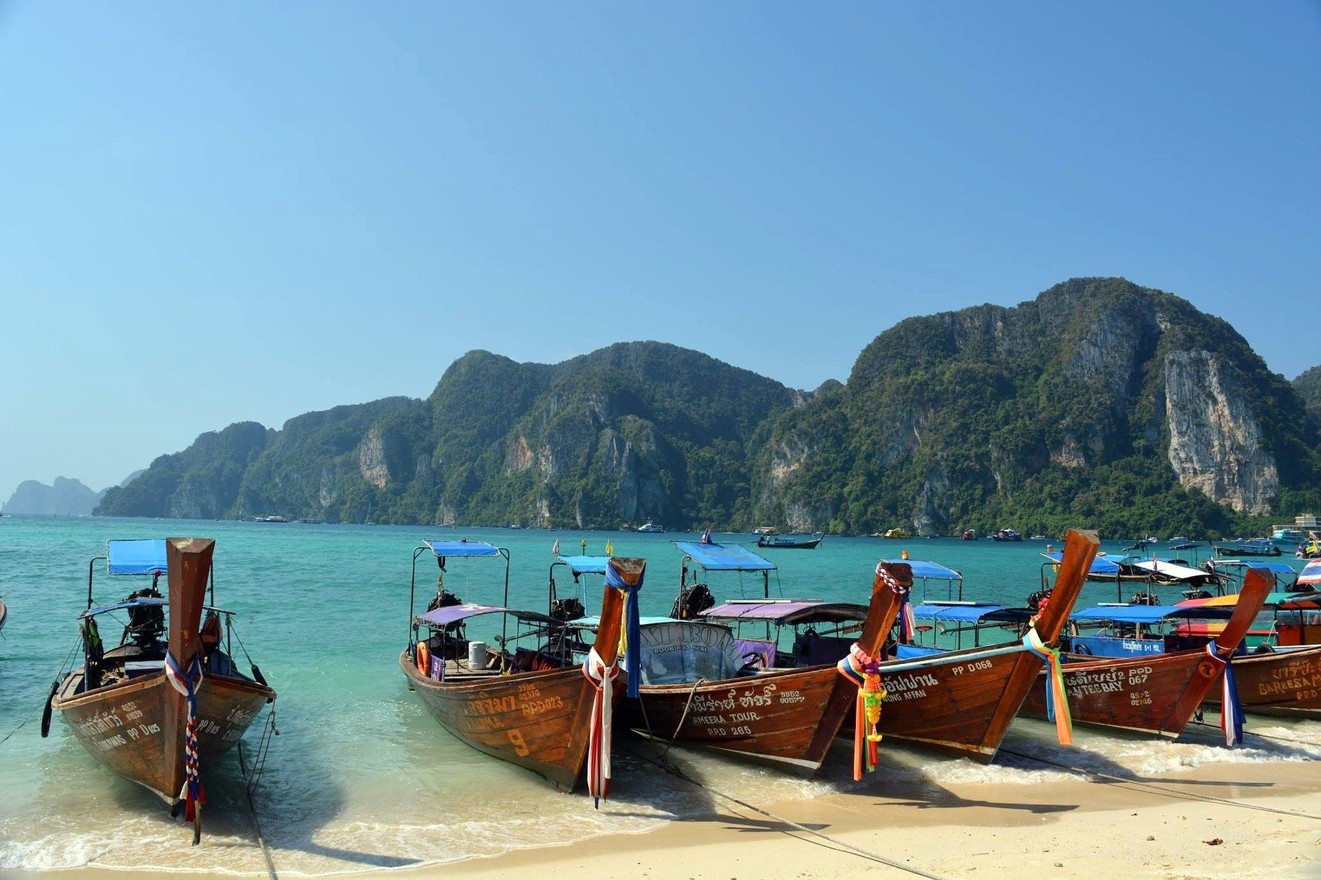 Beach on Koh Phi Phi