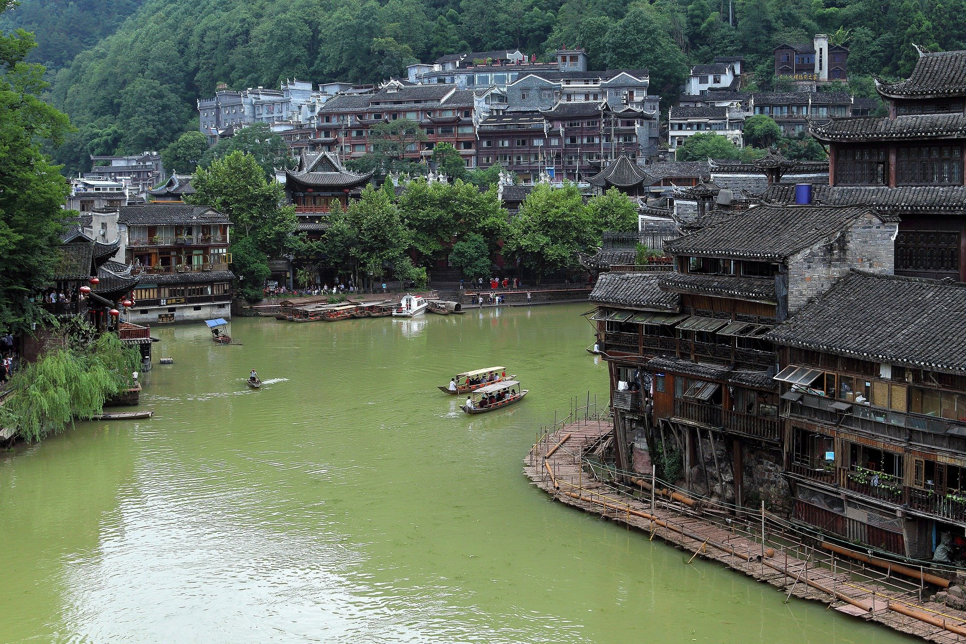 Fenghuang City in Hunan Province