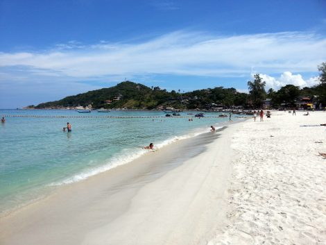 Haad Rin Beach in Koh Phangan