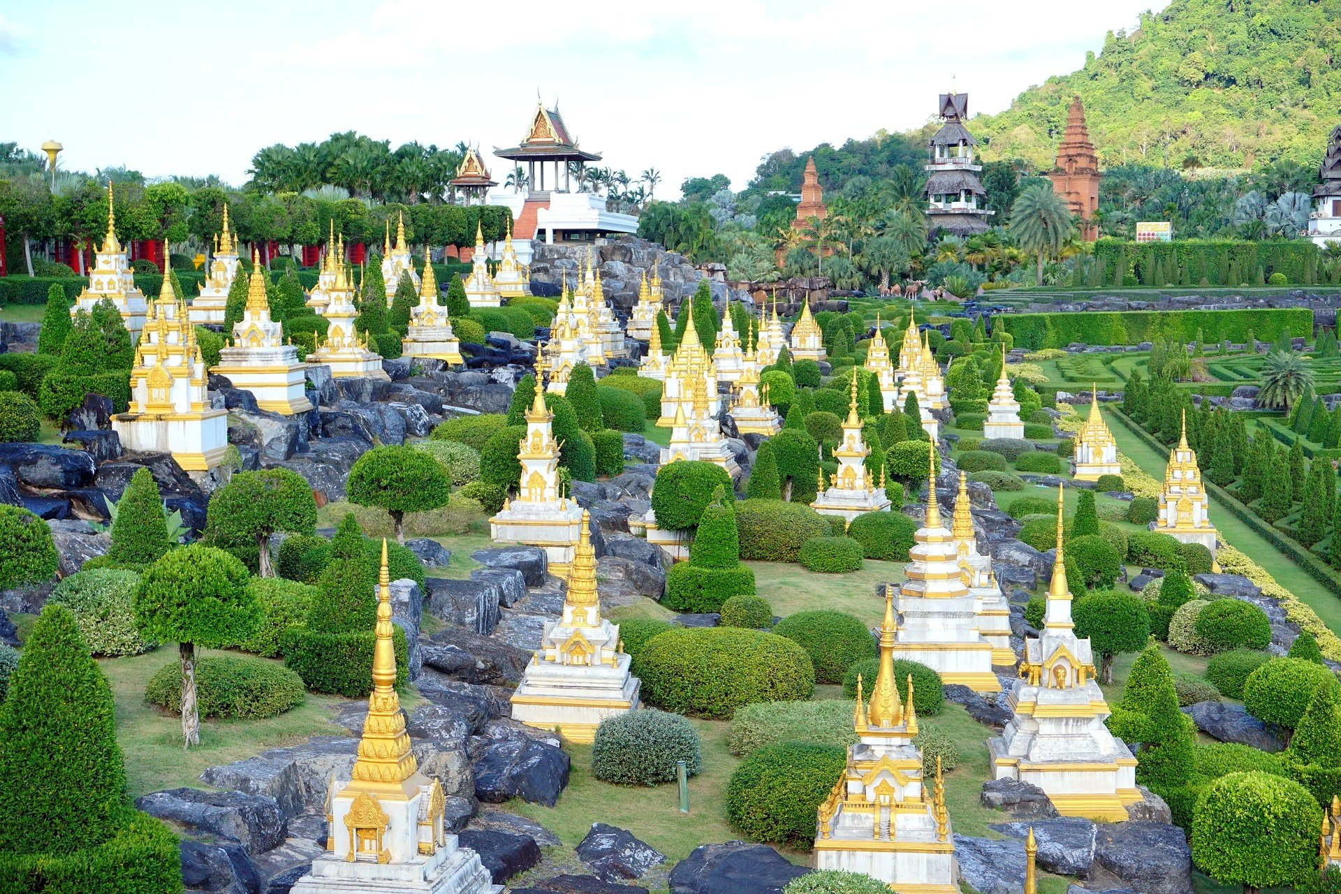 Nong Nooch Tropical Garden near Pattaya