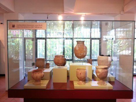 Ancient pottery found at Ban Chiang
