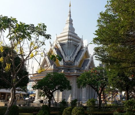 Chao Por Lak Muang Shrine in Khon Kaen