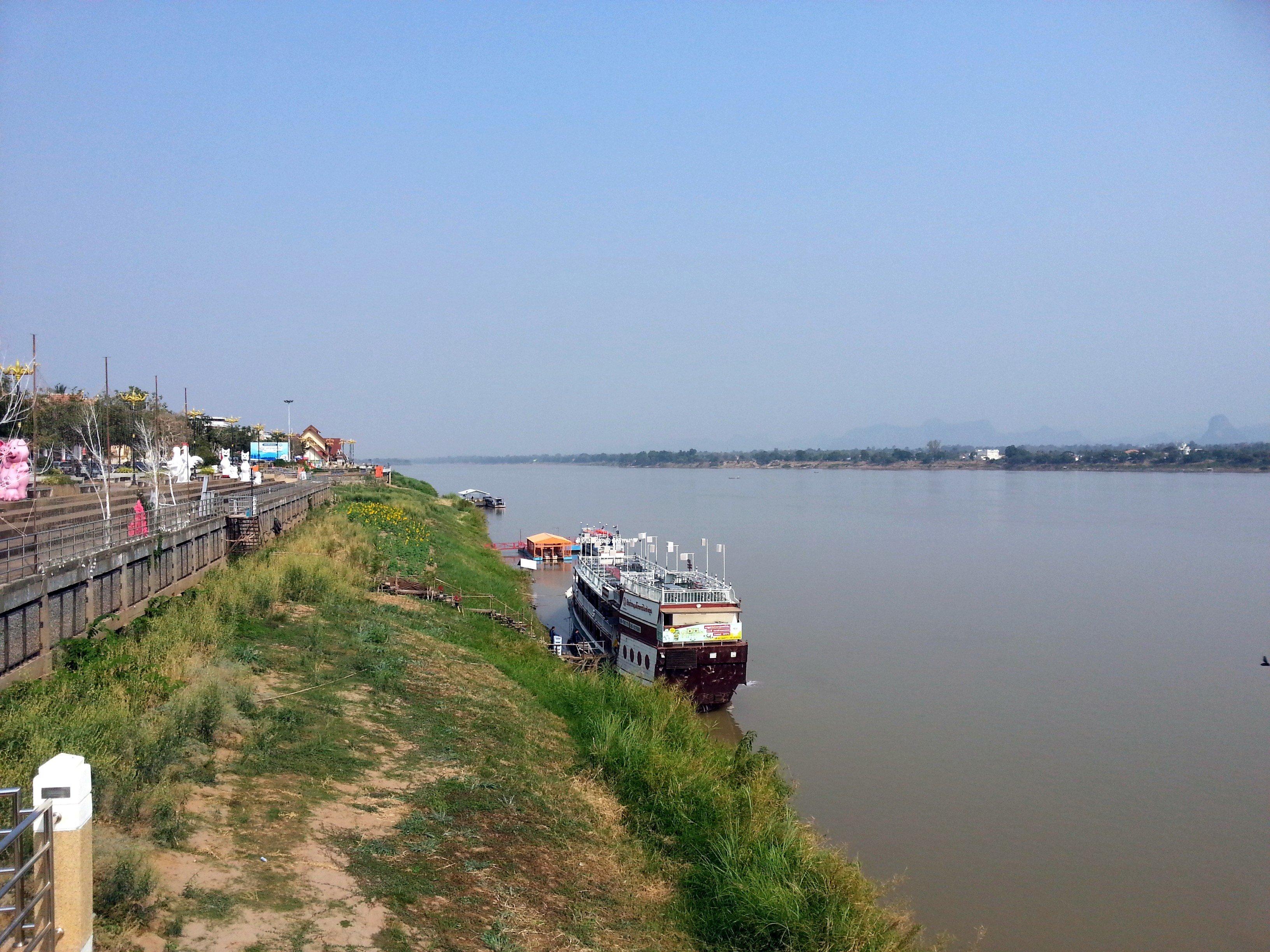 Riverfront in Nakhon Phanom