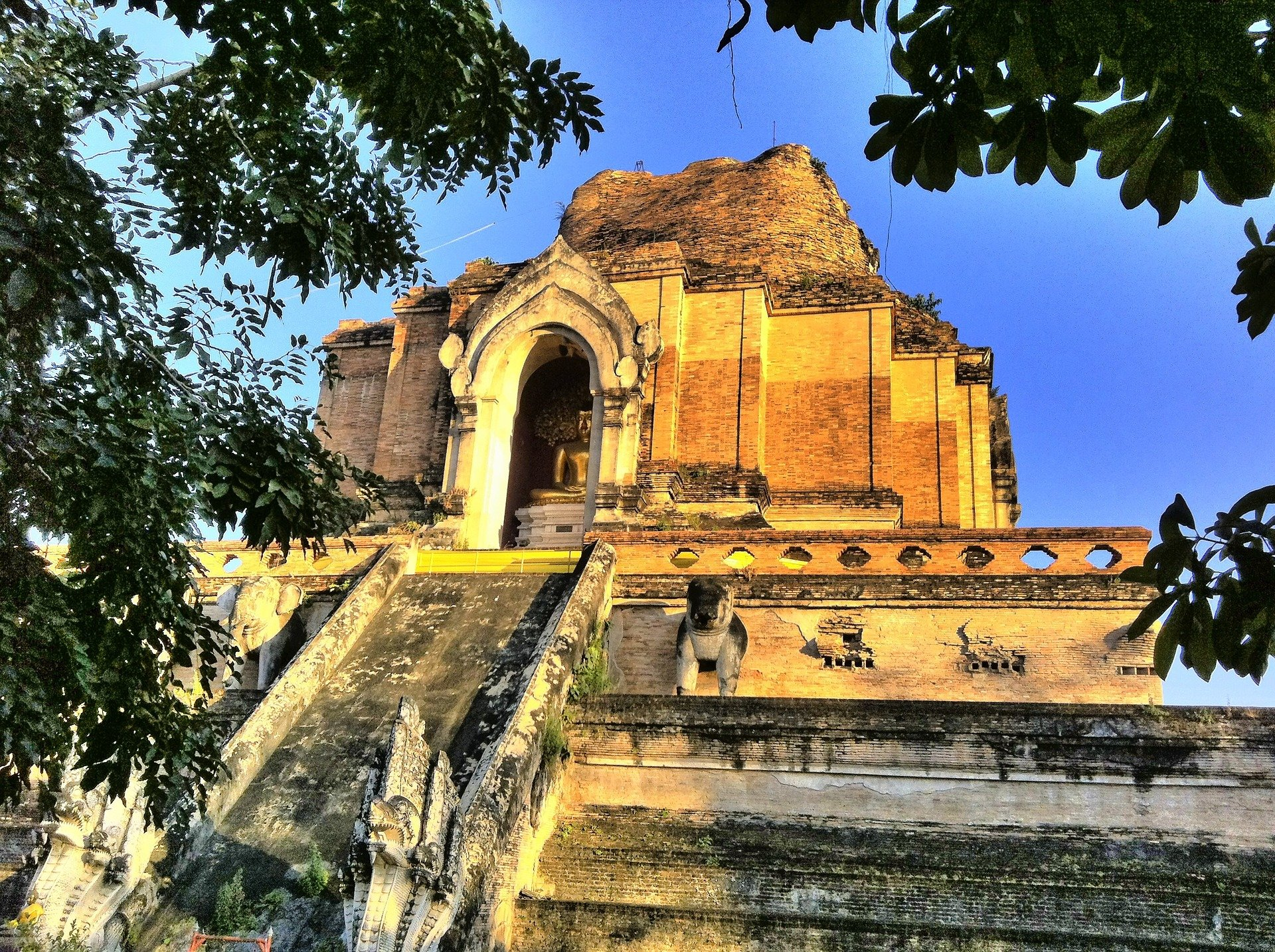 The Great Stupa of Chiang Mai