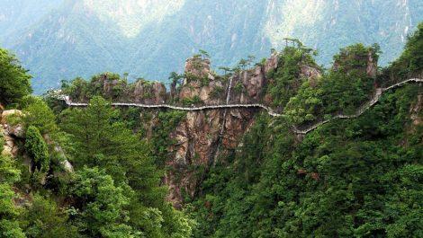 Yandangshan Geopark in Zhejiang Province