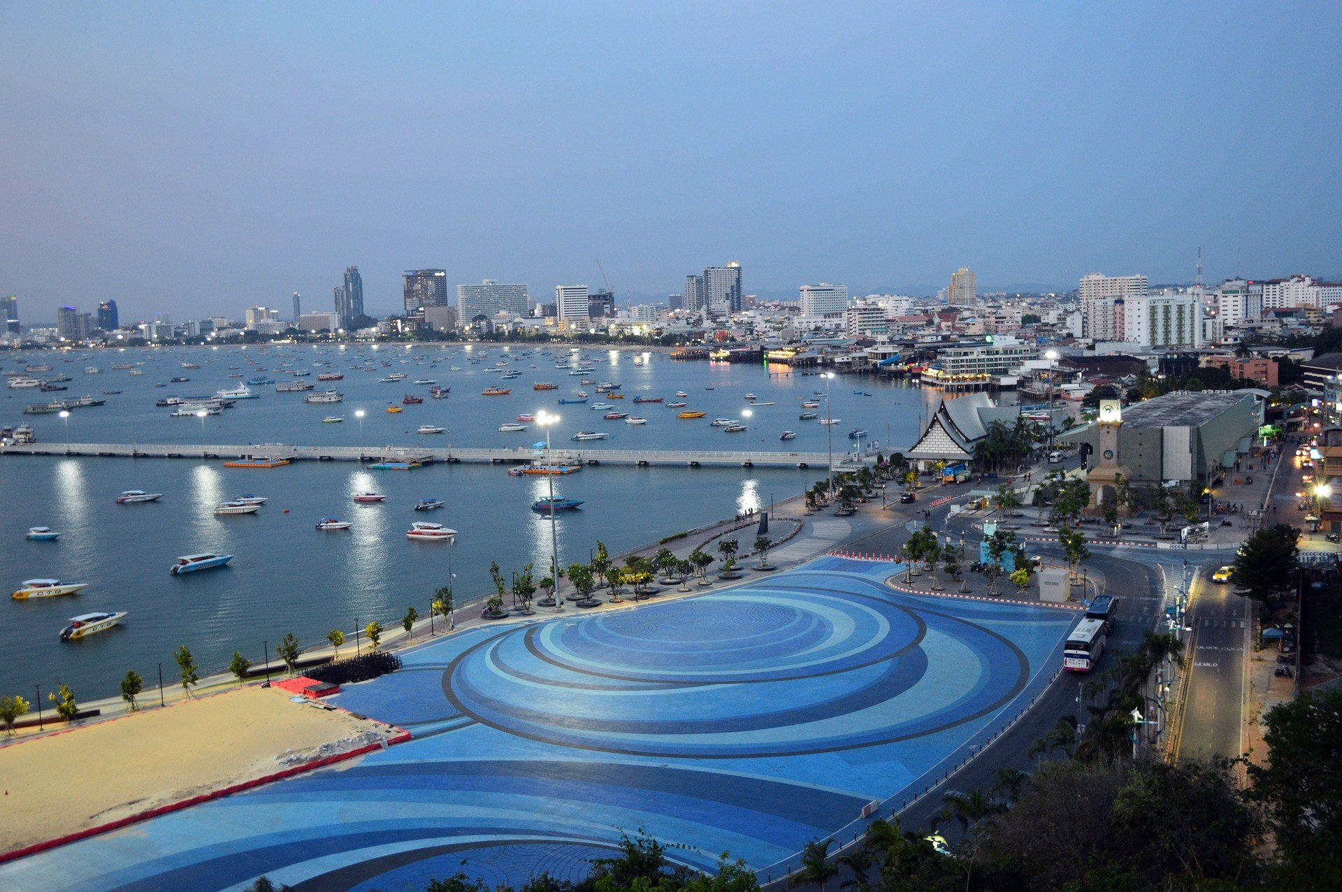 Bali Hai Pier in Pattaya City Centre