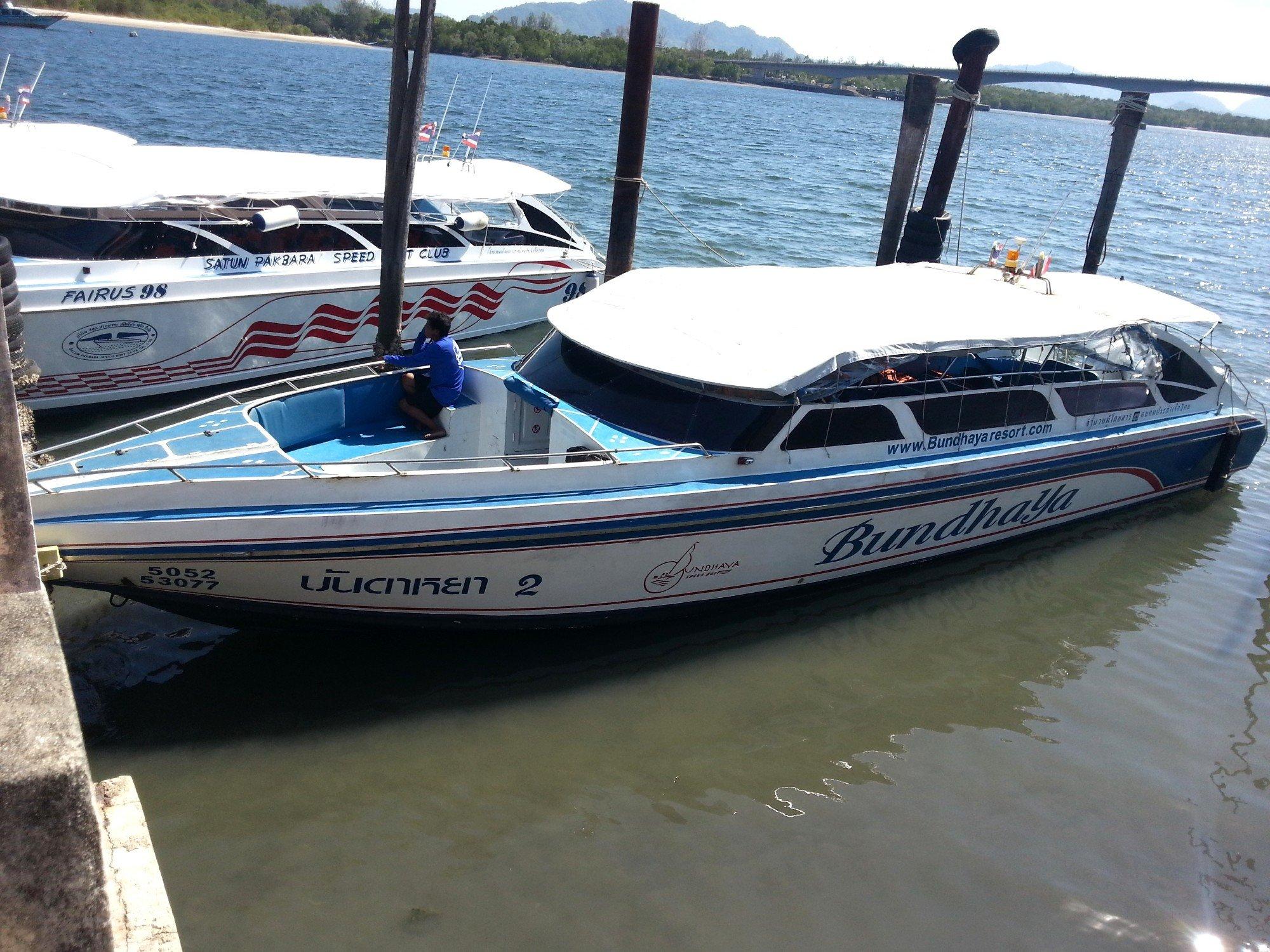 Bundhaya Speed Boat in Koh Lanta