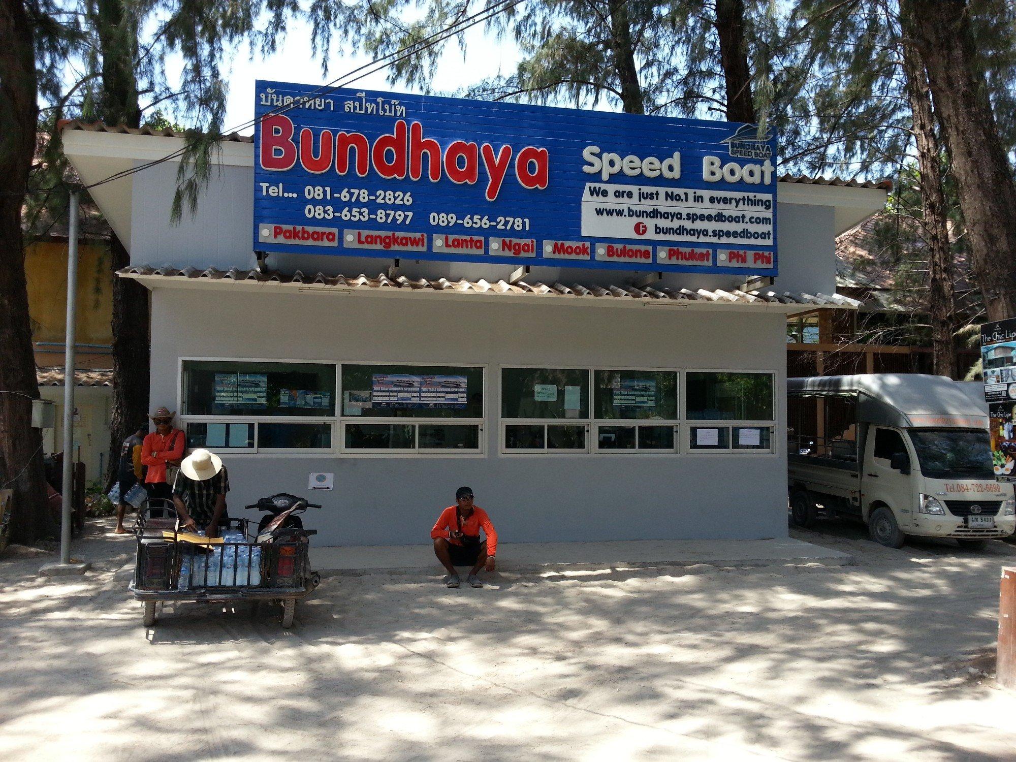Bundhaya Speed Boat office in Koh Lipe