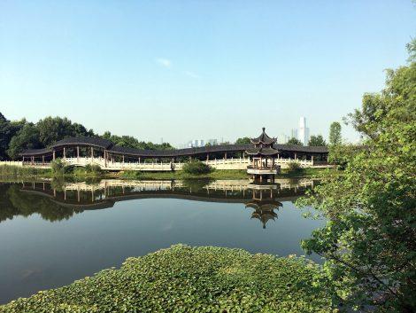 Changsha City in Hunan Province