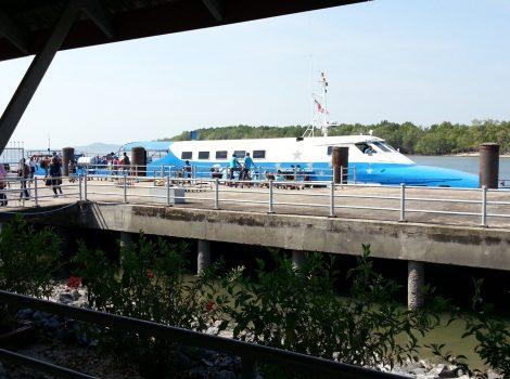 Langkawi to Satun Ferry at Tammalang Pier