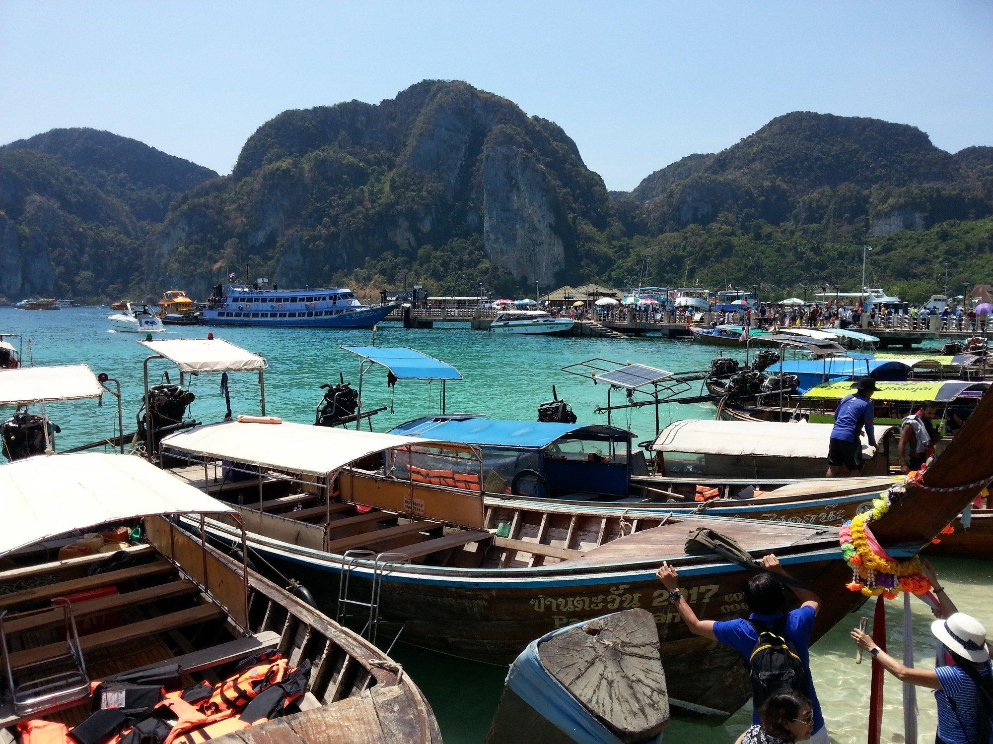 Tonsai Bay on Koh Phi Phi