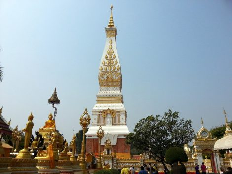 Wat Phra That Phanom near Nakhon Phanom