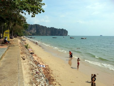 Ao Nang Beach in Krabi Province