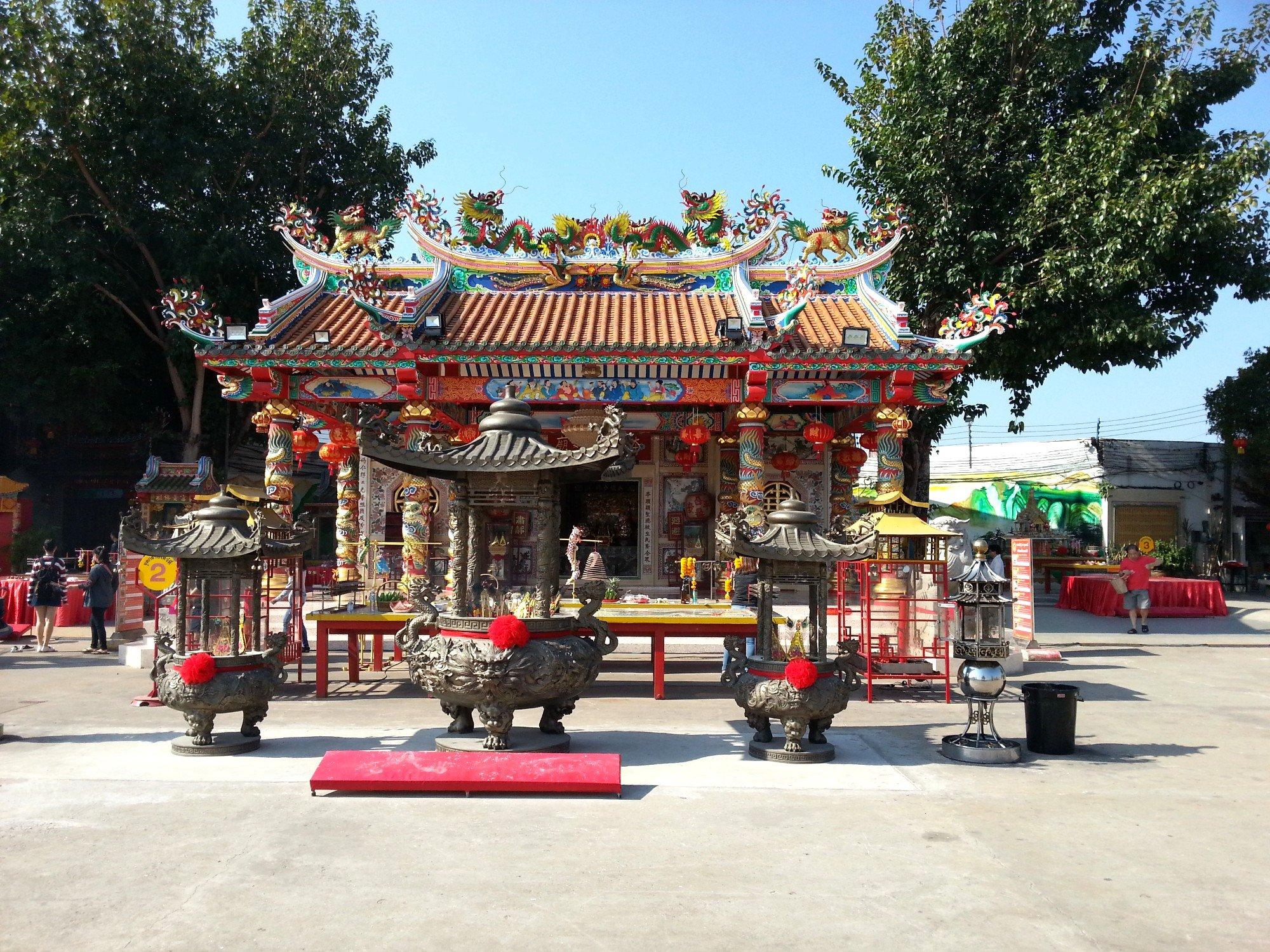 Chao Pu Ya Shrine in Udon Thani