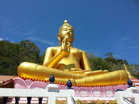 Rang Hill Temple in Phuket