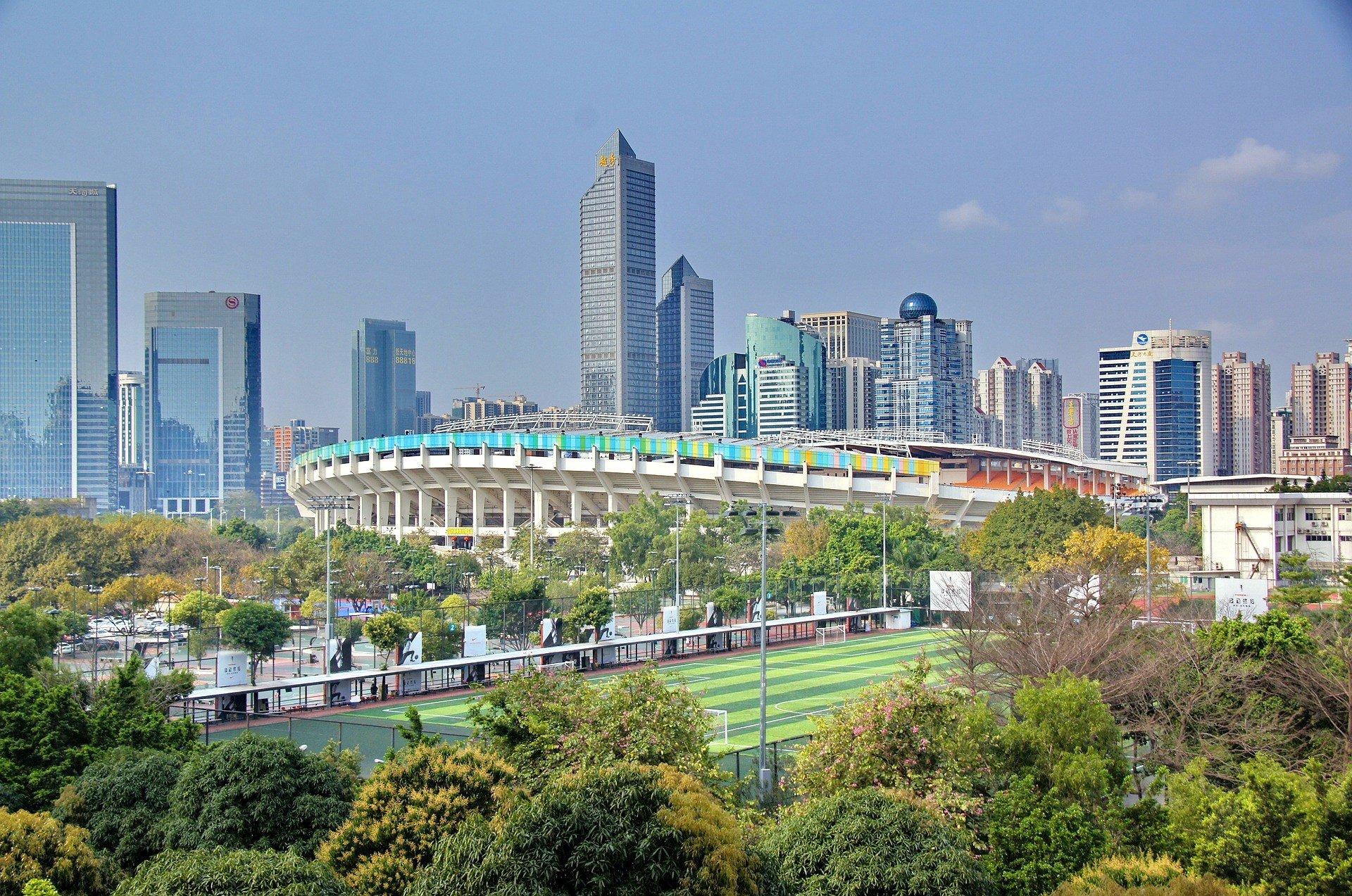 Guangzhou in Guangdong, China