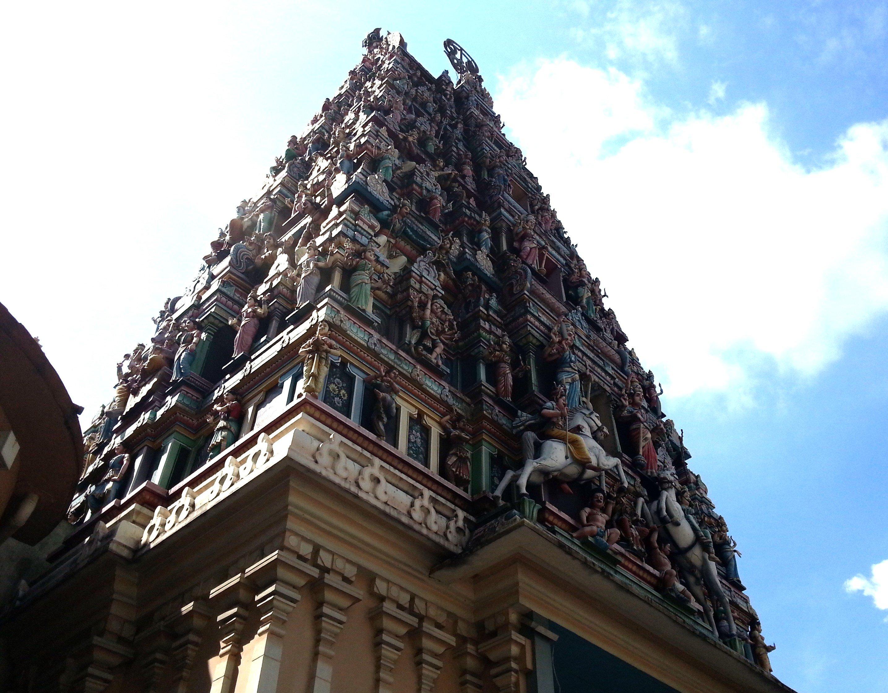 Sri Mahamariamman Temple in Kuala Lumpur