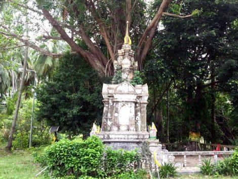 Wat Nai Pagoda in Koh Phangan