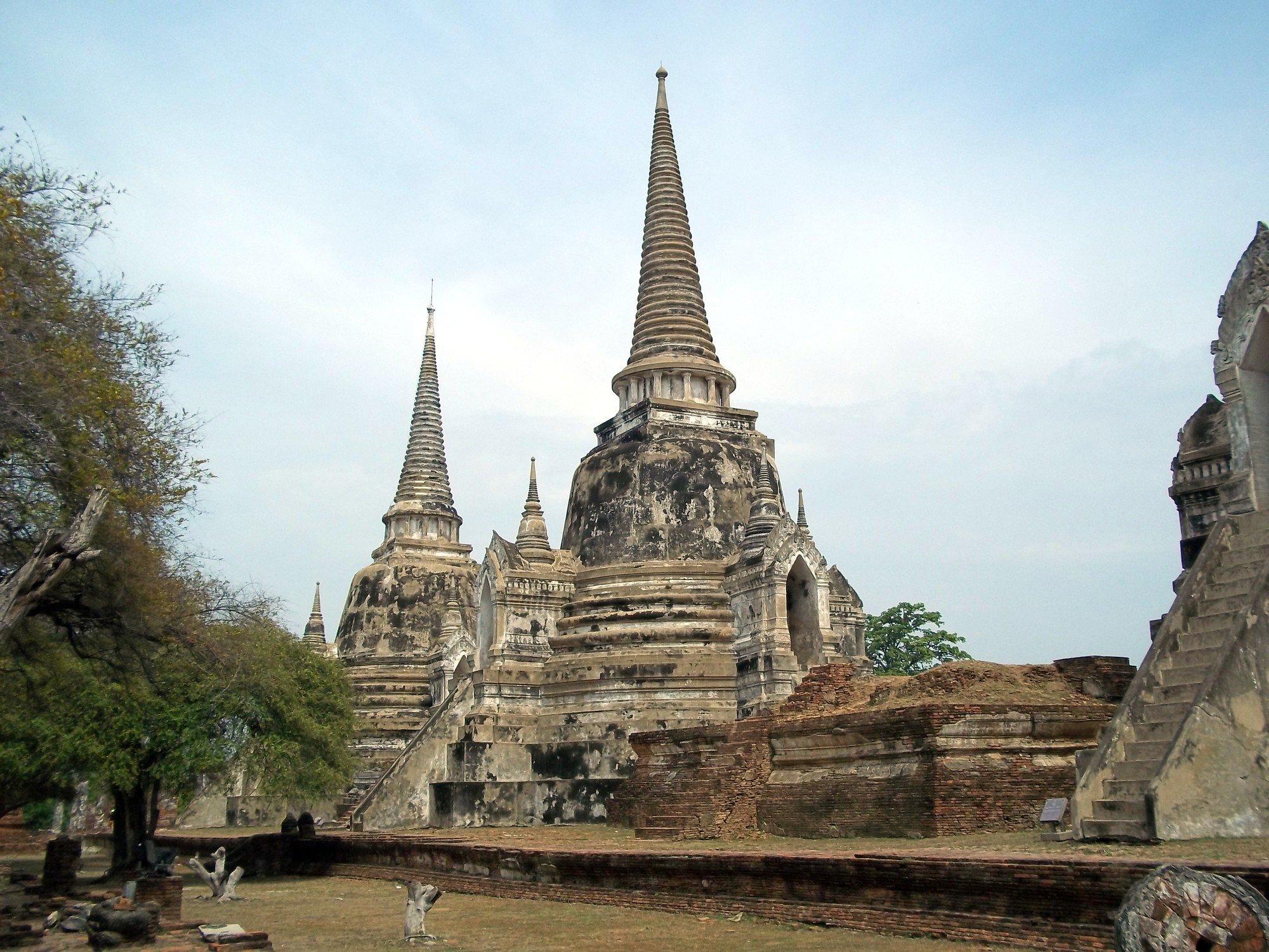 Wat Phra Sri Sanphet in Ayutthaya Historical Park