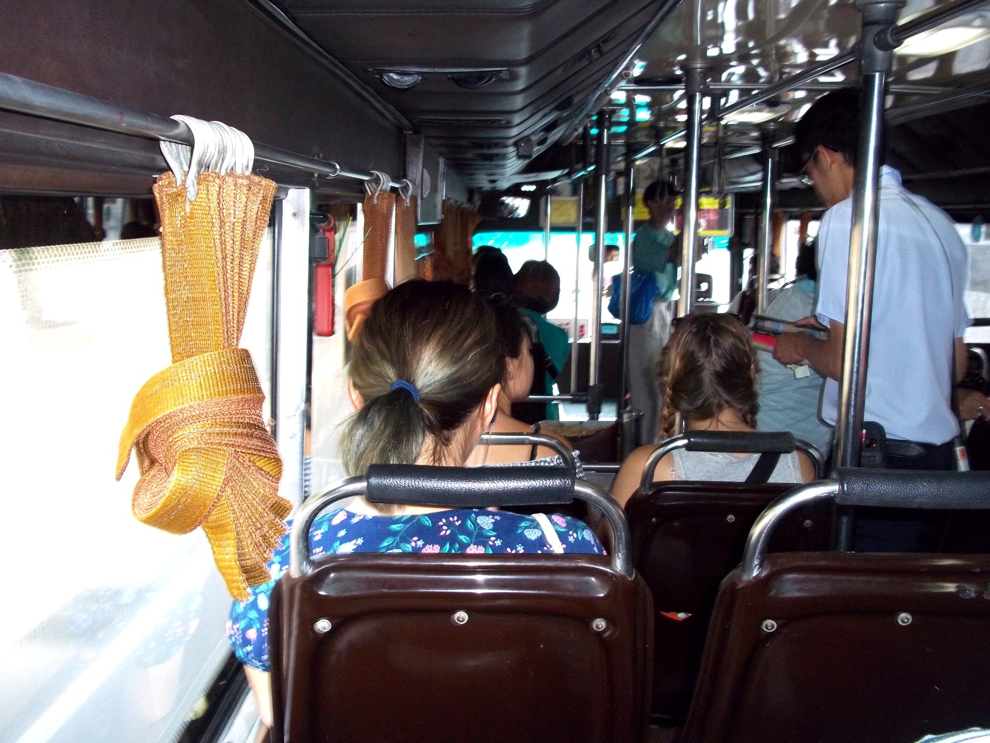 Inside the Khao San Road to Siam Square Bus