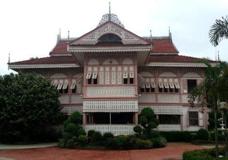 Vongburi House Museum in Phrae