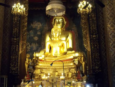 Wat Bowonniwetwiharn Ratchaworawiharn in Bangkok