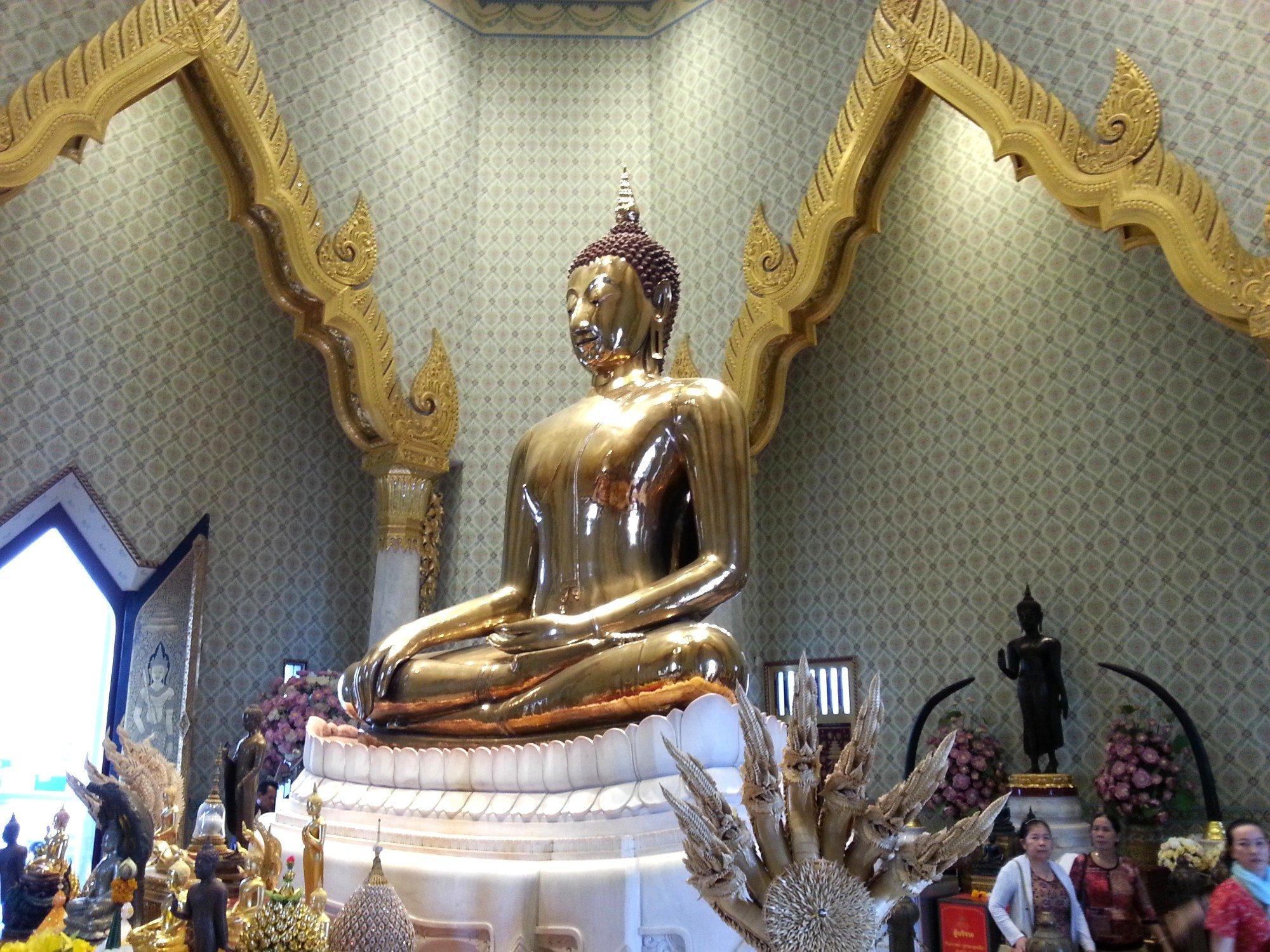 Wat Traimitr in Bangkok