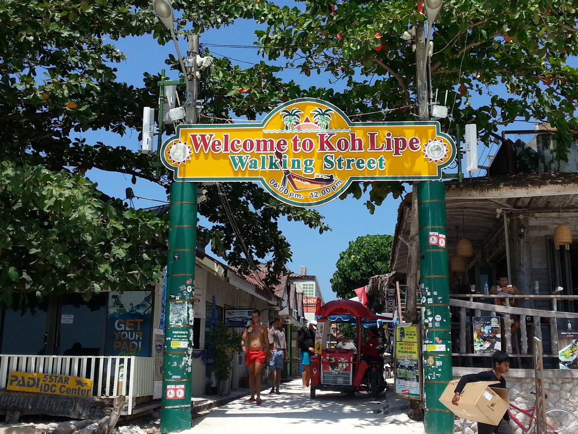 Walking Street in Koh Lipe