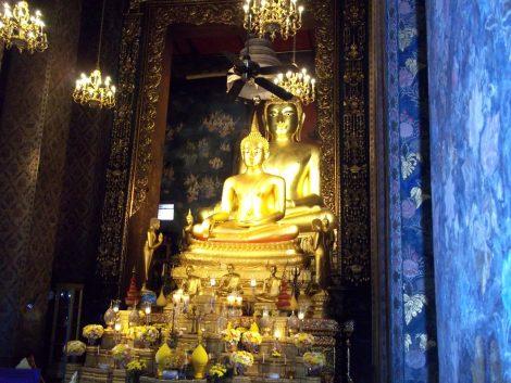 Wat Bowonniwet in Bangkok