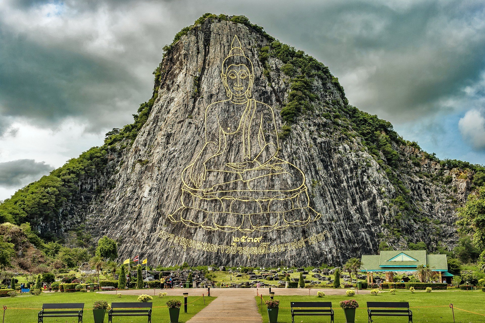 Buddha Mountain in Pattaya