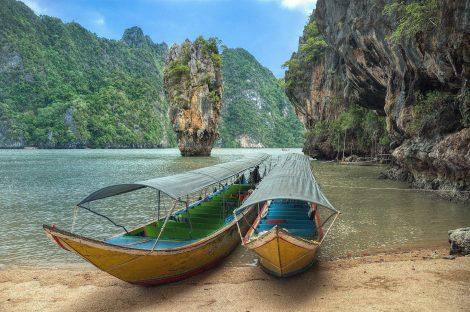Koh Tapu in Phang Nga Bay